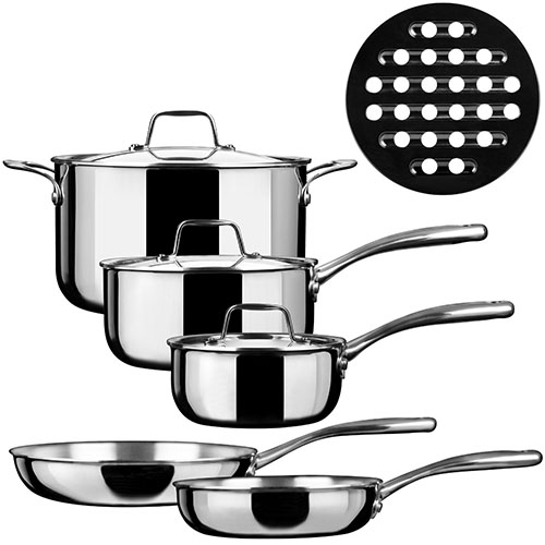 3. Whole-Clad Tri-Ply Induction Cookware