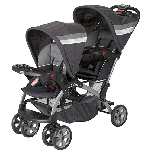 9. Baby Trend Sit and Stand Double Stroller