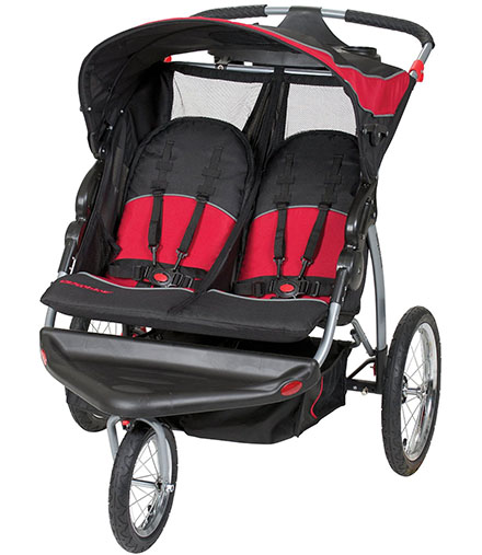 10. Baby Trend Expedition Double Jogger
