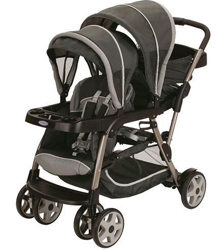 2. Graco Ready2grow LX Stroller