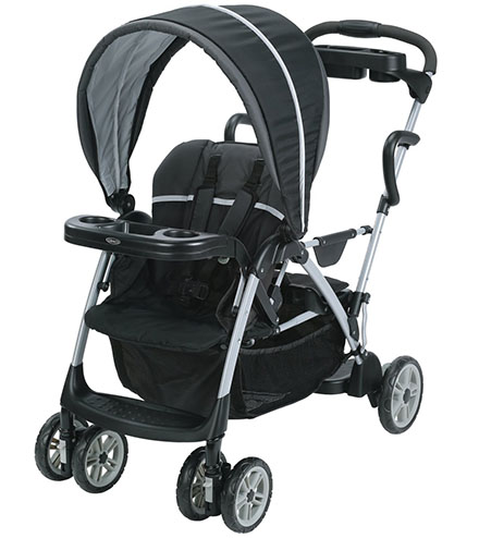 6. Graco Connect Stand and Ride Stroller