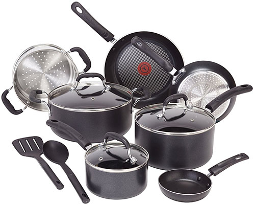 2. Heat Indicator Induction Base Cookware Set