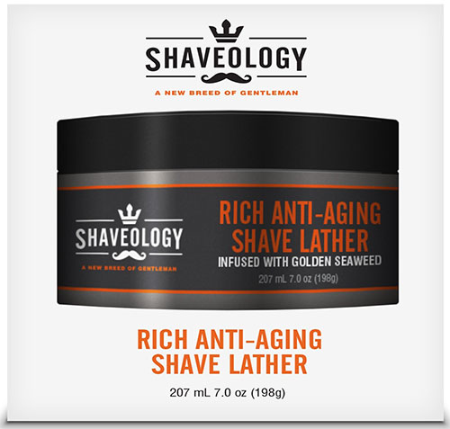 4. Premium Rich Anti-Aging Shave Cream Lather