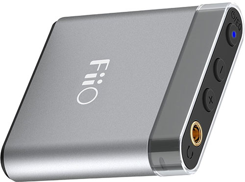 1. FiiO A1 Silver Portable Headphone Amp A1