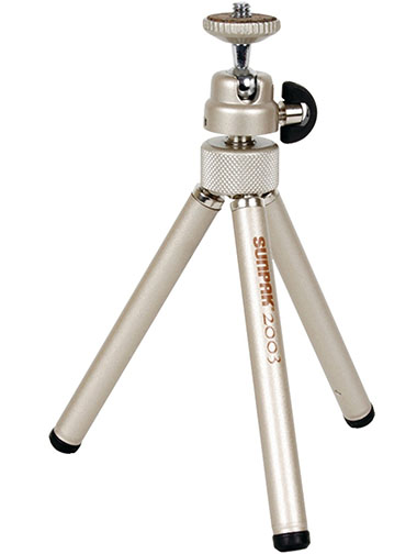 8. Sunpak 2003 Pocket Tripod