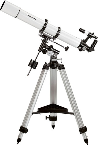 5. Orion 9024 AstroView 90mm Equatorial Refractor Telescope