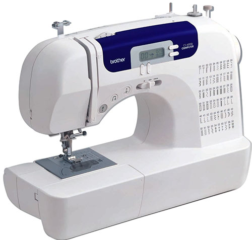 4. Brother CS6000i Feature-Rich Sewing Machine With 60 Built-in Stitches