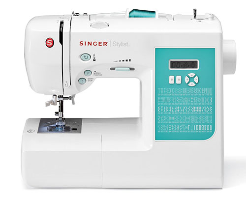 5. SINGER 7258 Stylist Award Winning 100 Stitch Computerized Sewing Machine