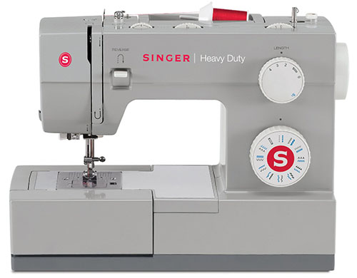 8.SINGER 4423 Heavy Duty Extra-High Sewing Speed Sewing Machine With Metal Frame And Stainless Steel Bedplate