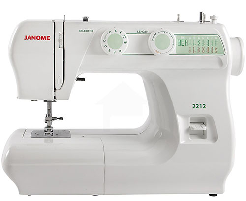 9. Janome 2212 Sewing Machine