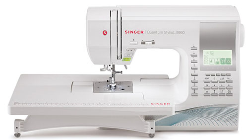3. SINGER 9960 Quantum Stylist 600-Stitch Computerized Sewing Machine
