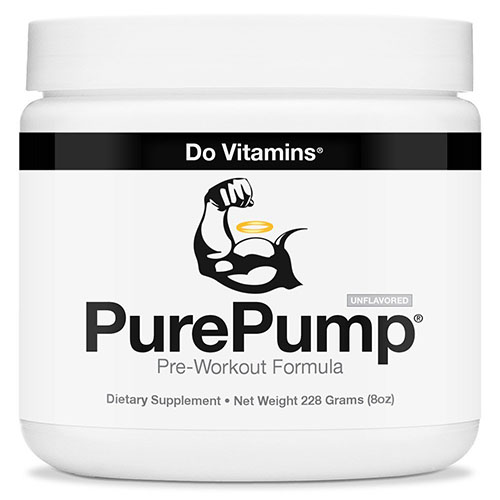 9. PurePump Natural Pre Workout Supplement