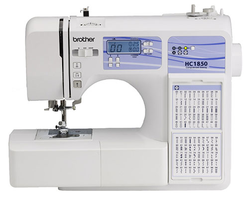 6.Brother HC1850 Computerized Sewing And Quilting Machine