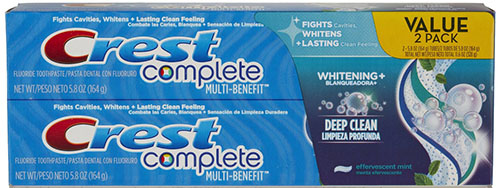 9. Crest Complete Toothpaste