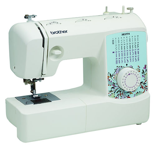1. Brother XR3774 Full Featured Sewing And Quilting Machine