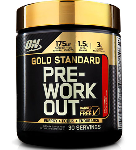 3. Optimum Nutrition Gold Standard Pre-Workout