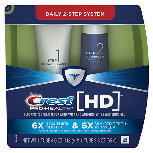 6. Daily Two-Step Toothpaste System