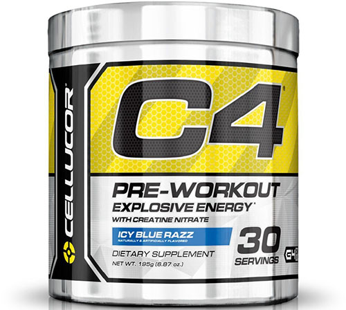 1. Cellucor C4 Pre Workout Supplements