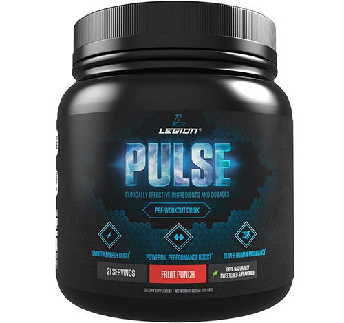 5. Legion Pulse Pre Workout Supplemen