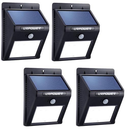 Top 10 best outdoor motion sensor solar lights in reviews solar lighturpower 8 led outdoor solar powerdwireless waterproof security motion sensor light workwithnaturefo