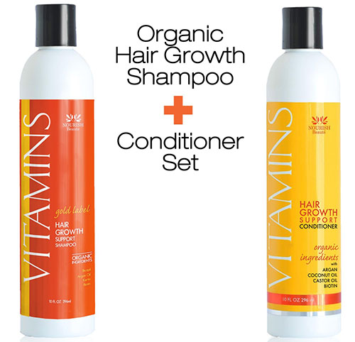 8. VITAMINS Gold Label Hair Growth Shampoo