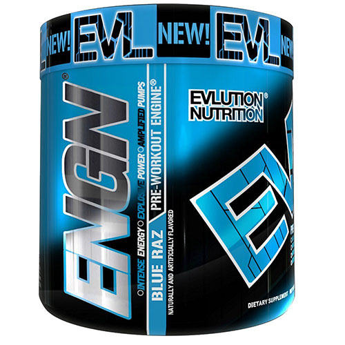 8. Pre workout ENGN By EVLUTION NUTRITION