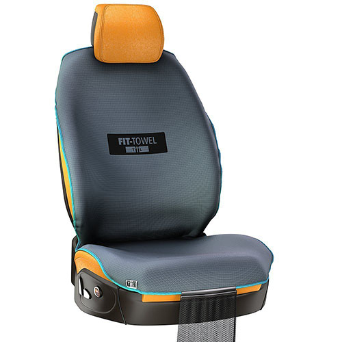 Fit Towel Car Seat Cover Athletic Sweat Shield With Cool Quick Dry Skidless Technology For Protection After Working Out