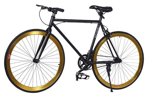 7. Ancheer Fashion Fixed Gear Bike - Single-Speed Commuter Bike