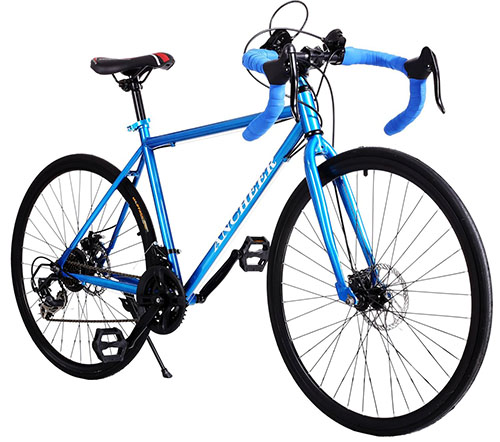 8. Gracelove Fashion Aluminum 21 Speed Bike