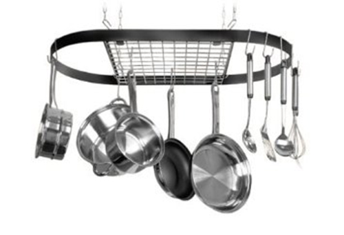 1. Kinetic Classicor Series Oval Pot Rack