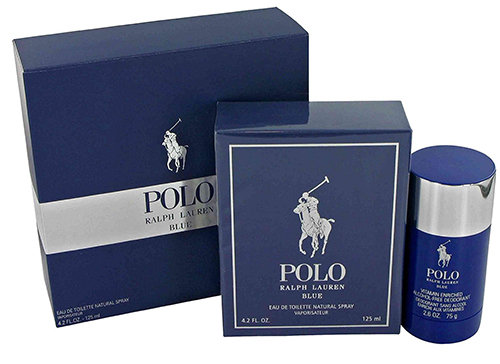 9. Ralph Lauren Polo Blue Gift Set for Men