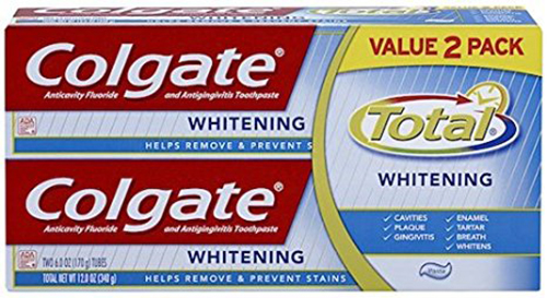 1. Colgate Total Whitening Toothpaste