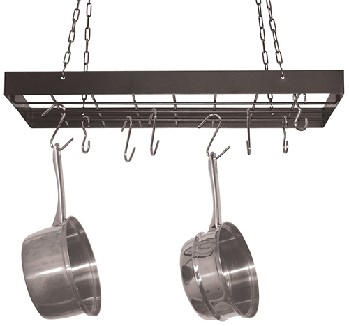 4. Fox Run Square Pot Rack