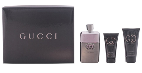 10. Gucci Guilty 3 Piece Gift Set for Men
