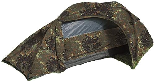 6. Miltec Flecktarn Recon Tent