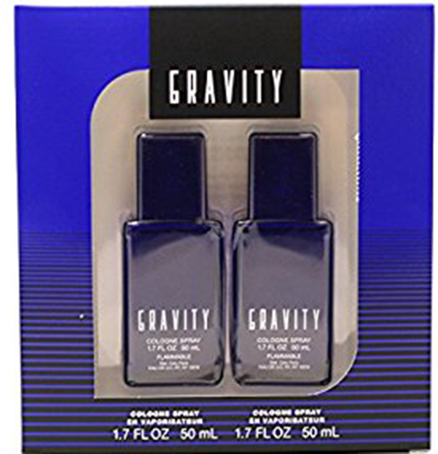 1. Coty Gravity 2 Piece Gift Set for Men