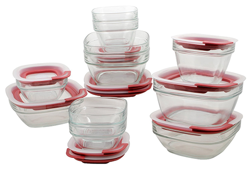 10. STERILITE 03078601 Ultra-Seal Food Storage Set