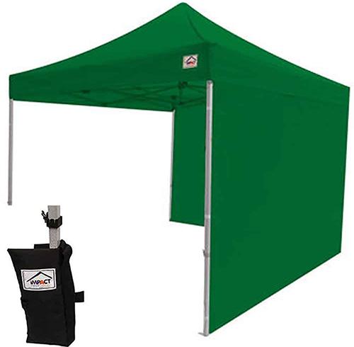 8. Impact Canopy 10x10 EZ Pop Up Tent