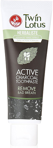 3. Twin Lotus Active Charcoal Toothpaste