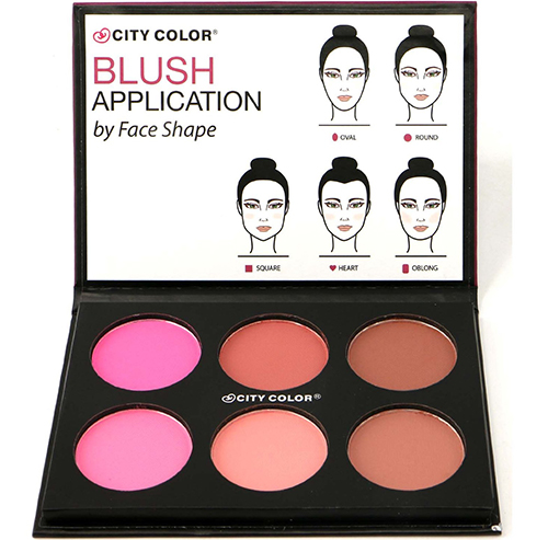 8. 1pc City Color Glow Pro Blush Palette
