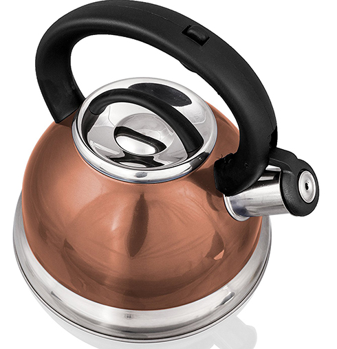 8. Stainless Steel Whistling Tea Kettle or Tea Maker