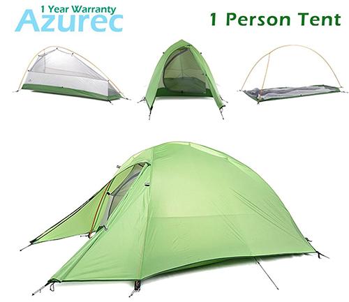 10. Azurec 1-2-3 Person 4 Season Tent
