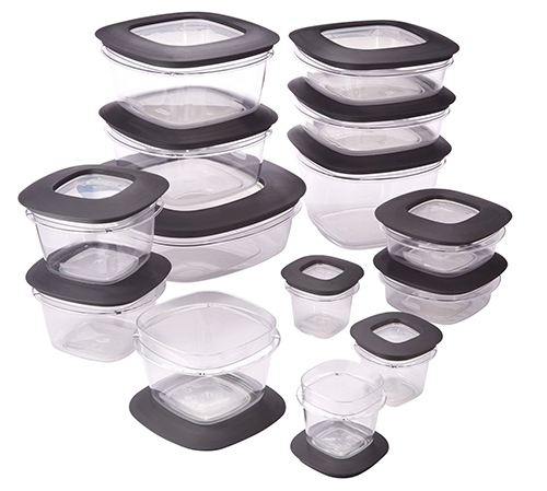 7. Rubbermaid Premier Food Storage Containers