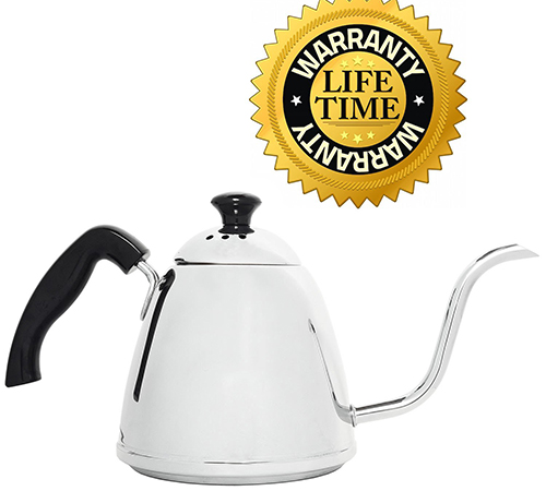 3. Steel Coffee Pour Over Kettle for Coffee and Tea