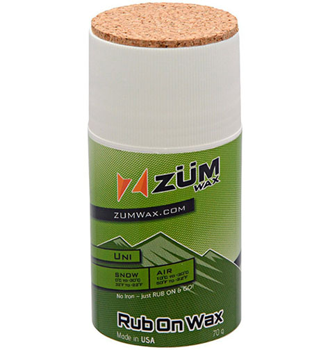 2. ZUMWax RUB ON WAX Ski