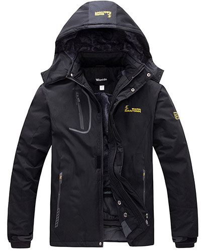 6. Outdoorwear Fleece Windproof Ski Jacket
