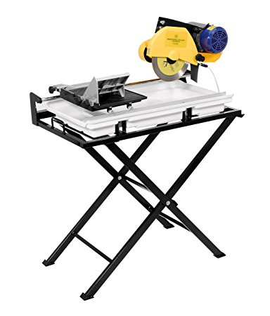 3. QEP 24-Inch Tile Saw (60020SQ), Dual Speed Tile Saw with Water Pump and Folding Stand