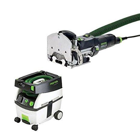 10. Festool DF 500-Q Set Domino Jointer + CT Midi Dust Extractor