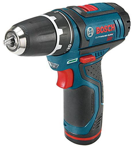 6. Bosch PS31-2A 12-Volt Max Lithium-Ion 3/8-Inch 2-Speed Drill