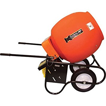 7. Kushlan 6 Cubic Ft. Drum Portable Gas-Powered Concrete Mixer